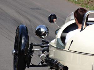 Driewieler motor